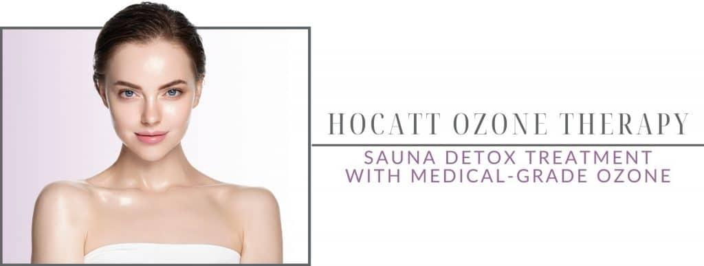 hocatt ozone therapy sauna with medical grade ozone